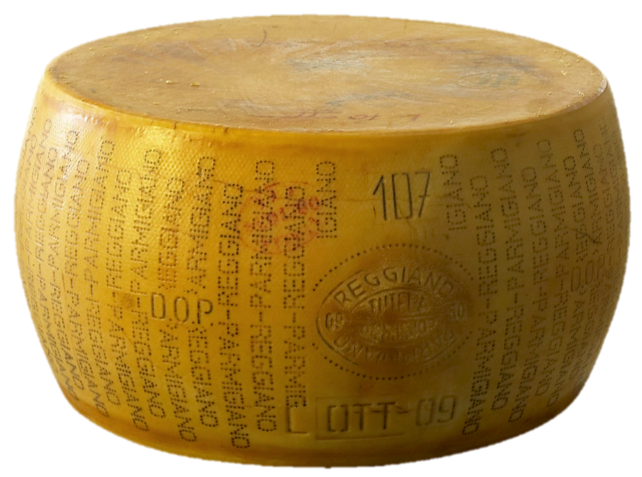 Samuel Pepys' Wheel of Parmesan Cheese