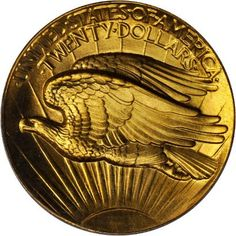 Augustus Saint-Gaudens' Double Eagle Gold Coin