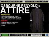 Osborne Reynolds' Attire