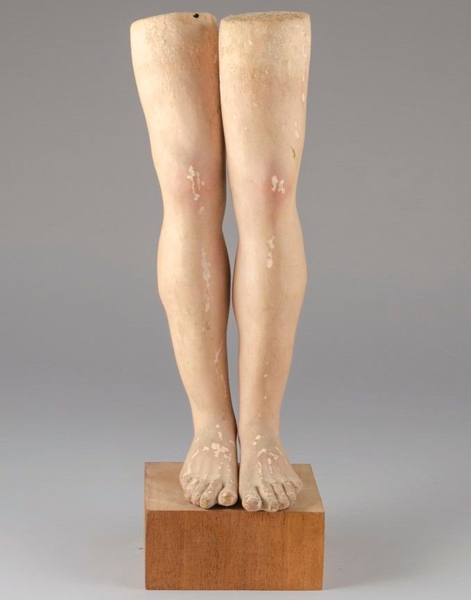 Legs from the Statue of Syncletica of Alexandria