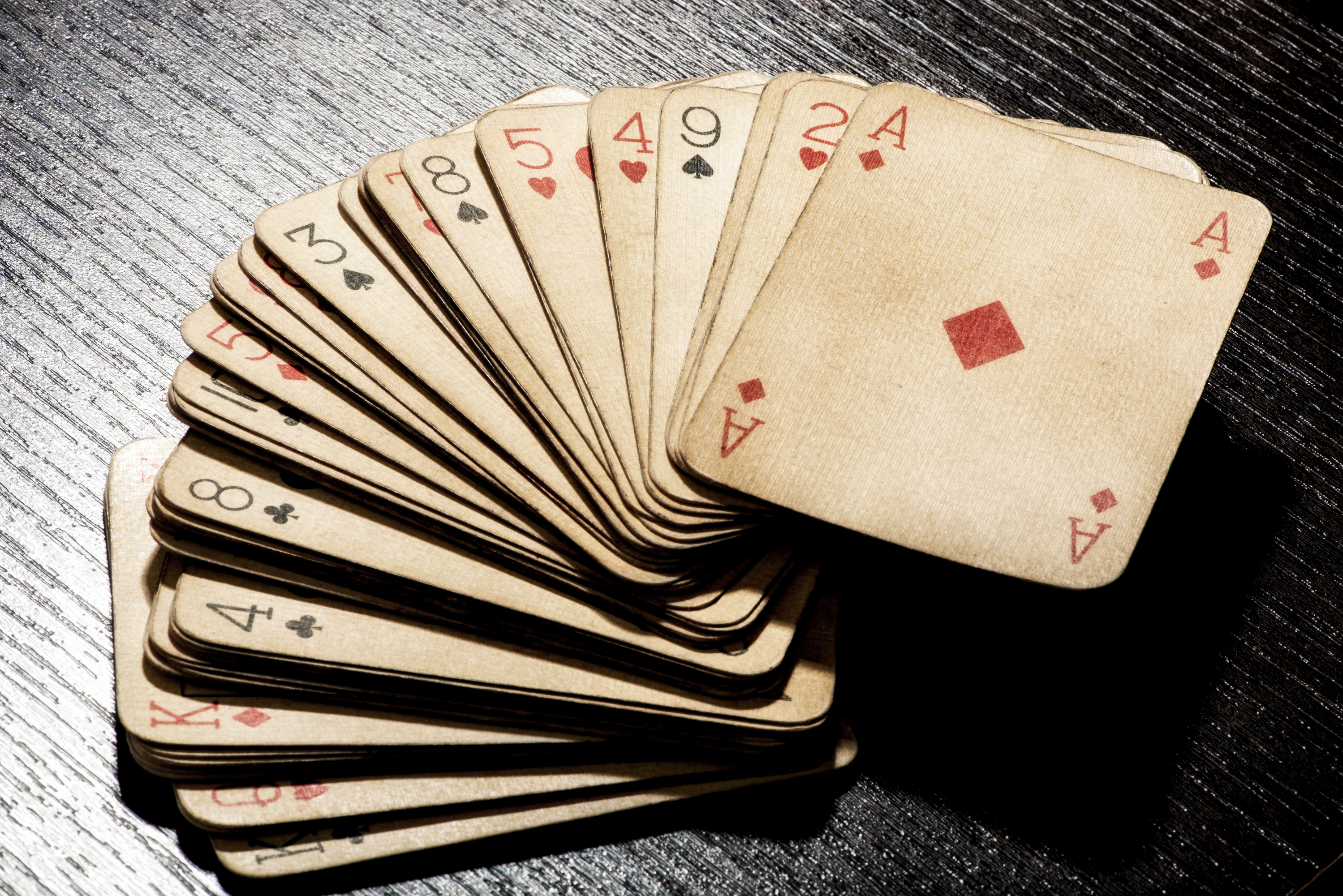 Poker Alice's Playing Cards