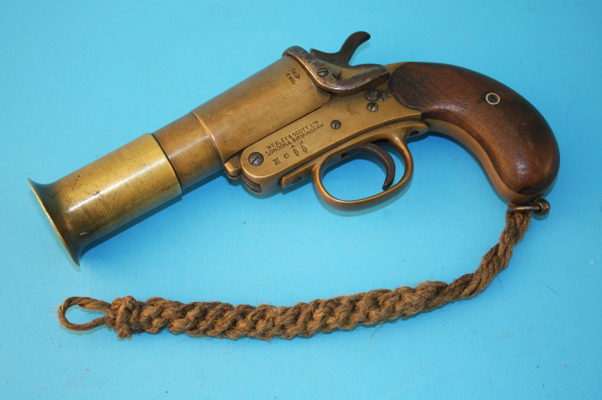 Flare Gun from the RMS Lusitania