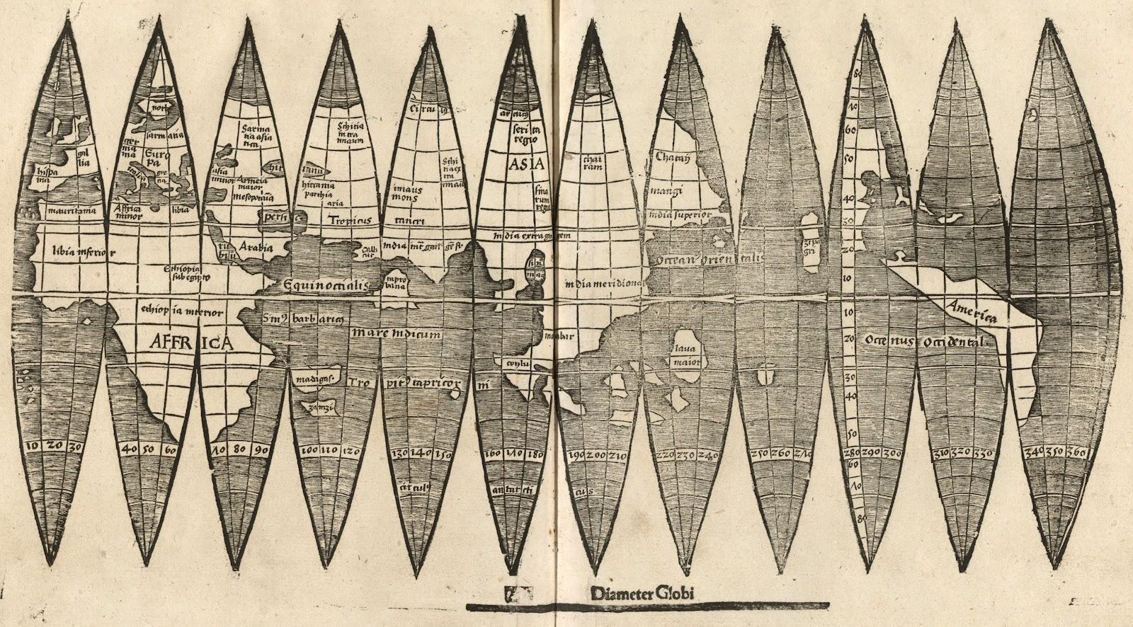 Martin Waldseemüller's Construction Gores