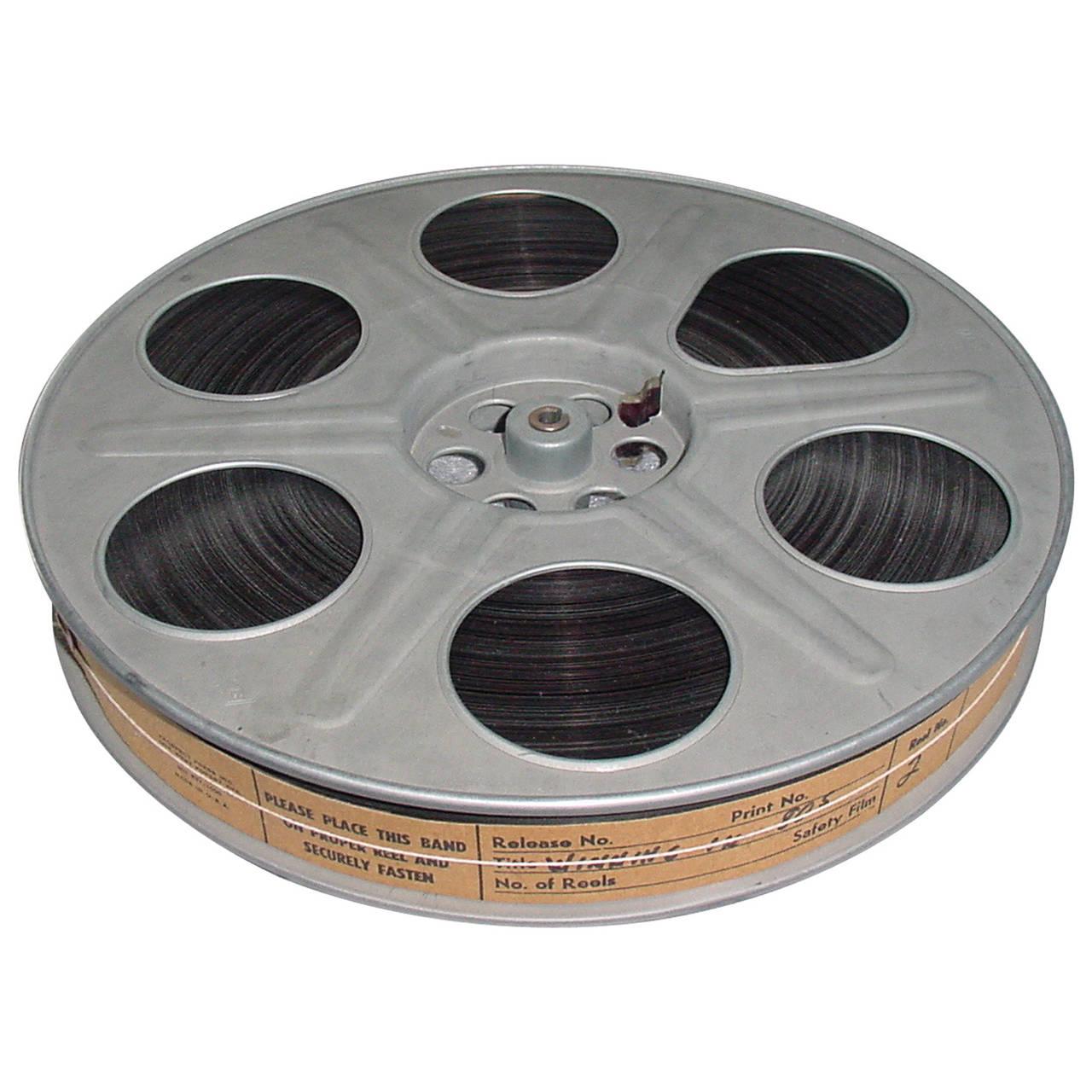 Original 8mm Film Reel of 'Poltergeist'