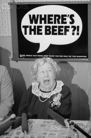 """""""Where's the Beef?"""" Lady's Dress"""