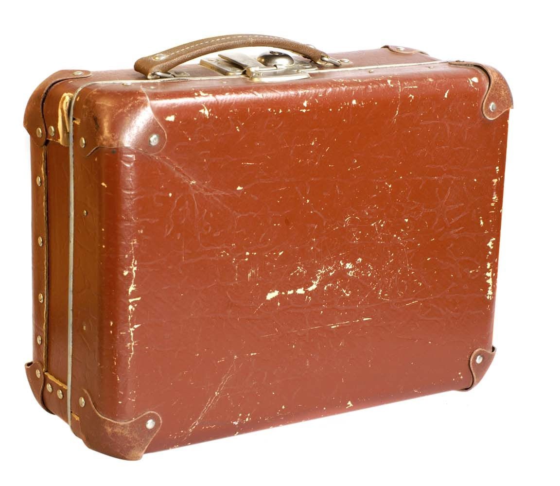 Fred Crane's Suitcase and 50 Dollar Bill