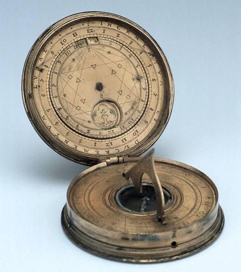 Ogier Ghiselin de Busbecq's Compass