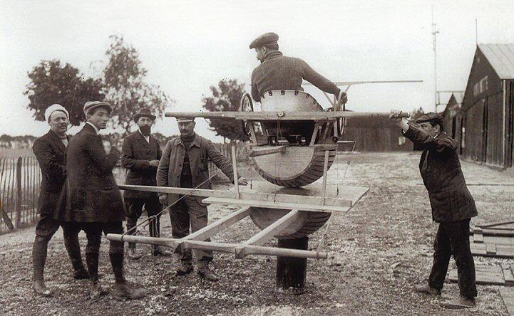 Hubert Latham's Flight Simulator