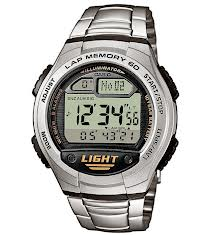 Agent Stall's Stainless Steel Casio Watch