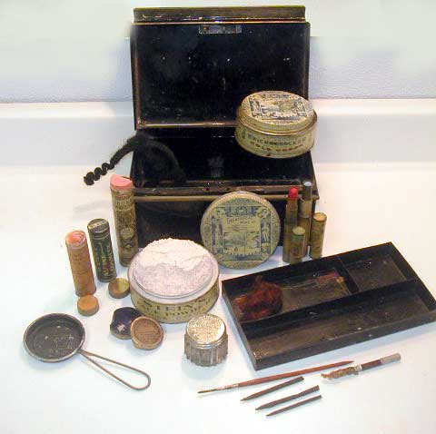 Greta Garbo's Make-Up Kit
