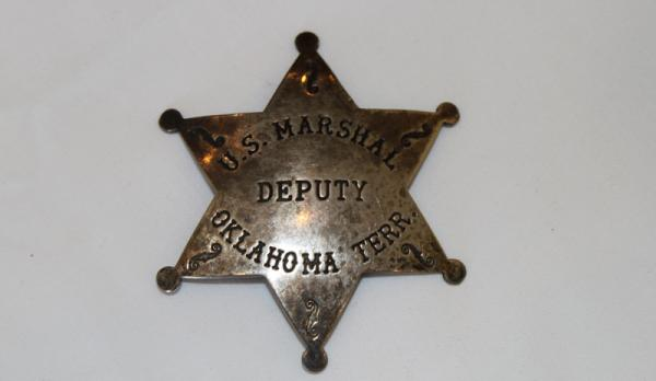 Bass Reeves' Marshal Badge