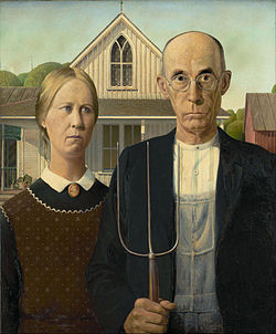 "Grant Devolson Wood's ""American Gothic"""