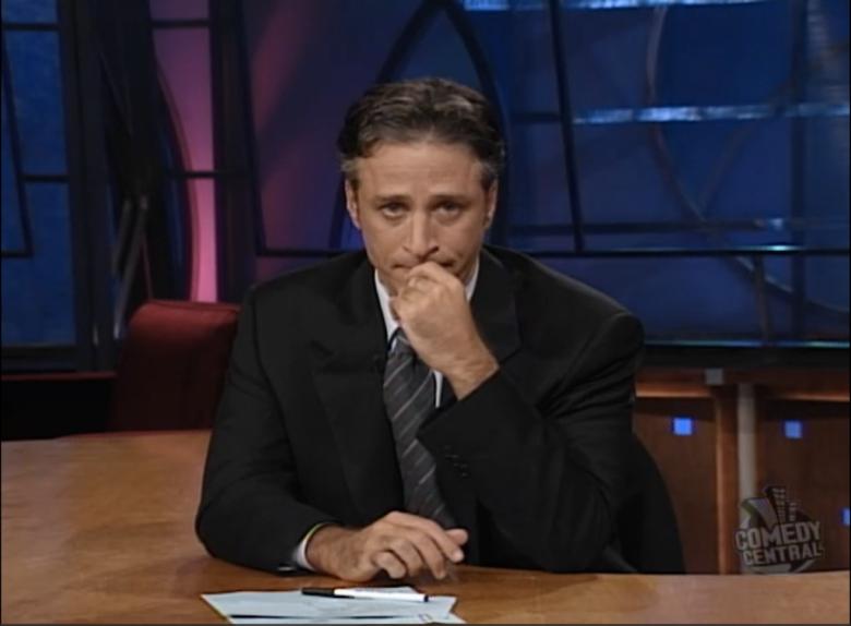 Jon Stewart's Tie