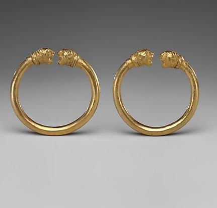 Hermaphroditus' Gold Bracelets