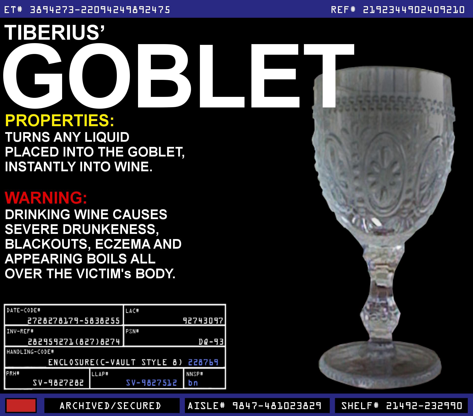 Tiberius' Goblet