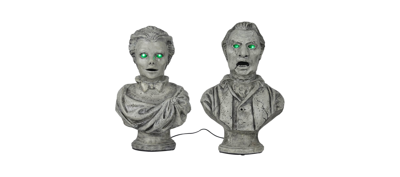 Bickering Halloween Statues