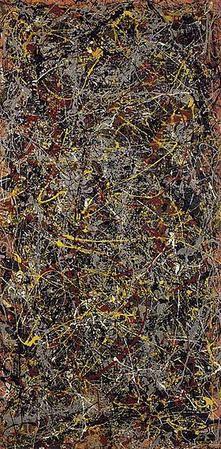 "Jackson Pollock's ""No. 5, 1948"""