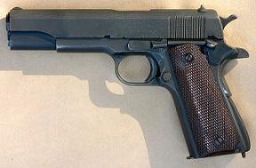 Alvin C. York's .45 Colt Automatic Pistol