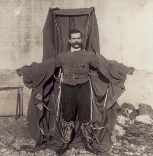 Franz Reichelt's Parachute