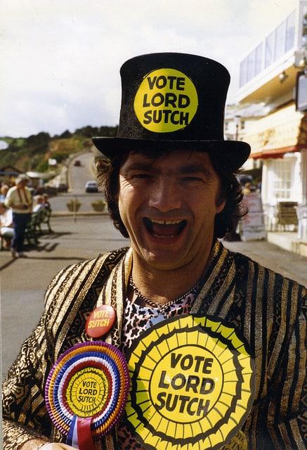 David Edward Sutch's Top Hat