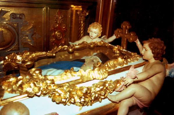 Mary of Jesus of Agreda's Casket