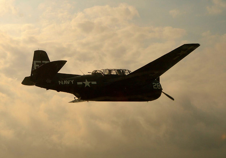 Flight 19 TBM Avenger Torpedo Bomber