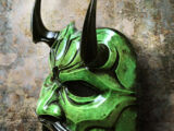 Black Oni Mask