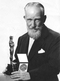 George Bernard Shaw's Academy Award & Nobel Prize