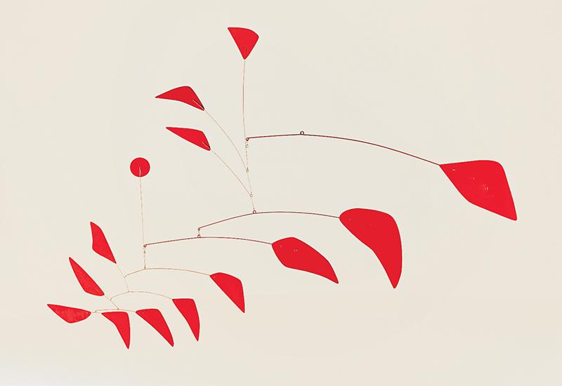 Alexander Calder's First Mobile