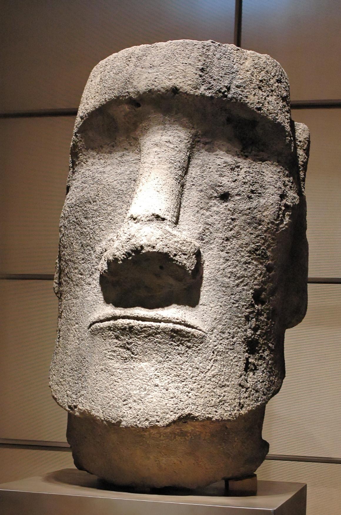 Laughing Moai