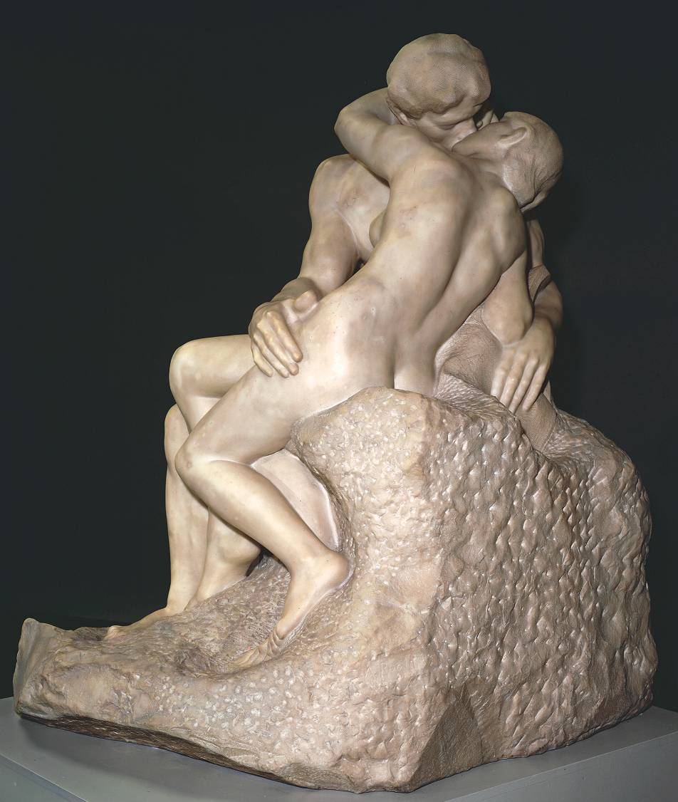 """Auguste Rodin's """"The Kiss"""""""