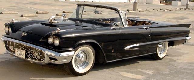 "Cassandra ""Elvira"" Peterson's '58 Ford Thunderbird"