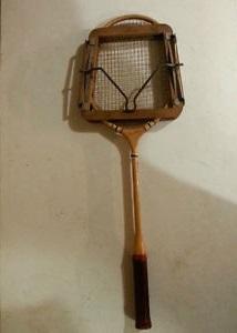 Charles Dickens' Badminton Racket