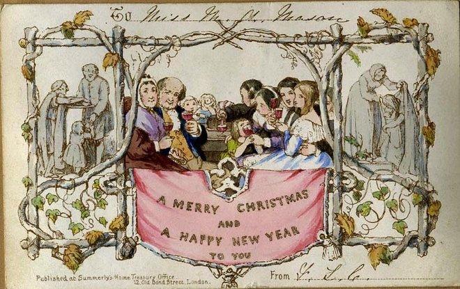 Louis Prang's Original Christmas Cards