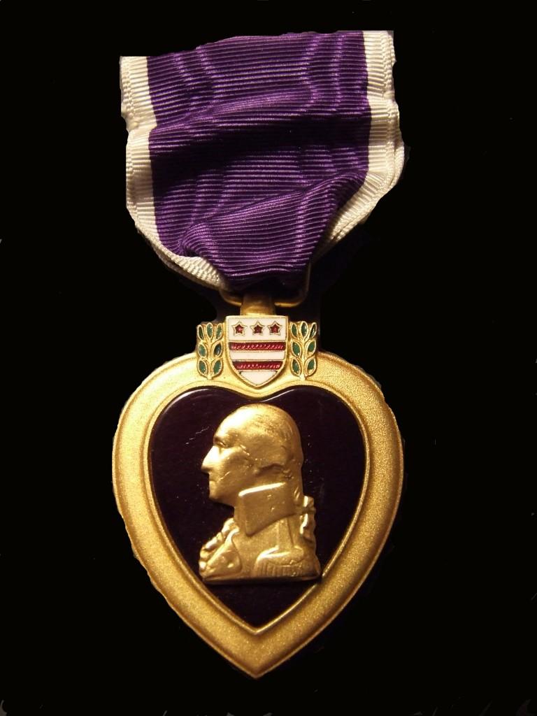 Annie Fox's Purple Heart
