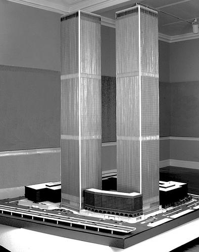 Minoru Yamasaki's Model of the World Trade Center