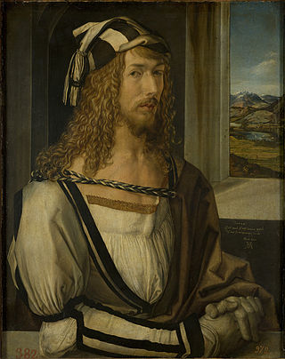 Albrecht Dürer's ''Self-portrait at 26''