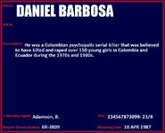 Daniel Camargo Barbosa