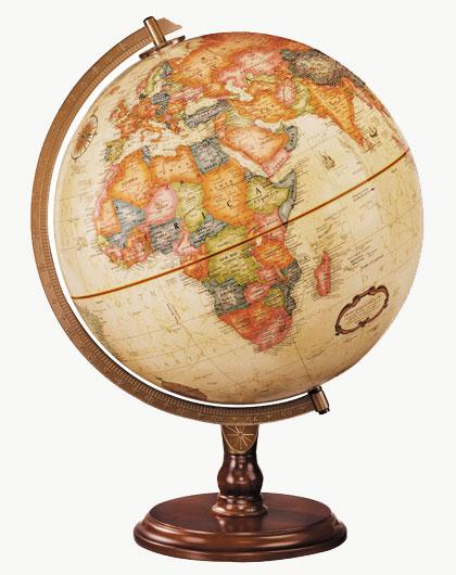 Robert Frost's Globe