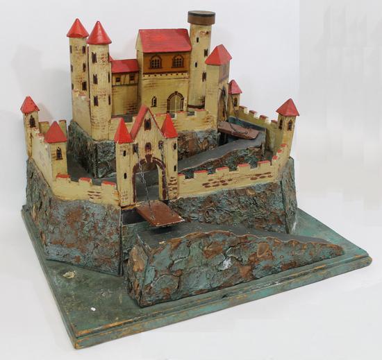 Moriz Gottschalk's Fairy-Castle Dollhouse