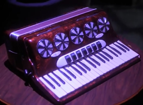 Joseph Vacher's Accordion