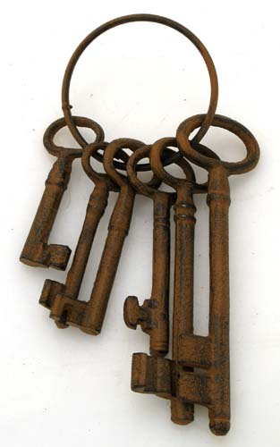 Keys to the Tower of London