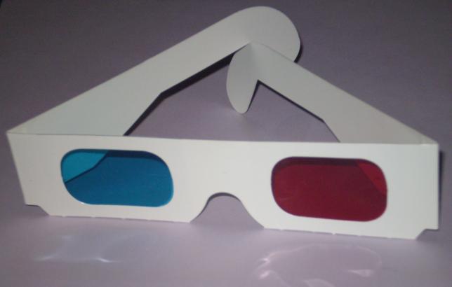André de Toth's 3-D Glasses