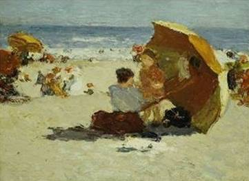 "Edward Henry Potthast's Painting ""Coney Island"""
