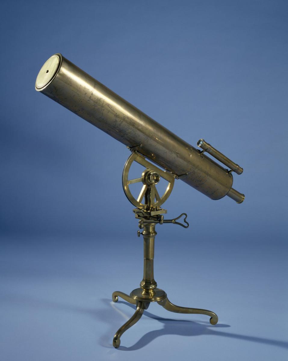 Edmond Halley's Telescope