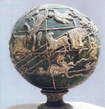 Atlas' Globe