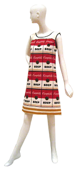 Andy Warhol's Concept Dress Mannequin