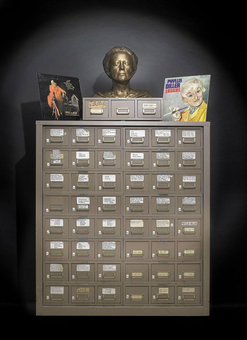Phyllis Diller's Gag File