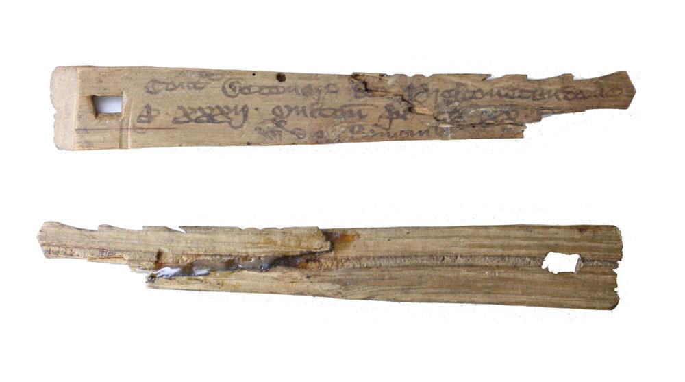 Simonides of Ceos' Tally Stick
