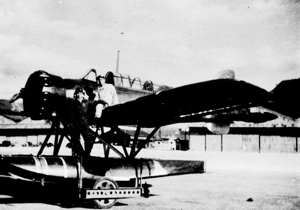 Nobuo Fujita's Seaplane